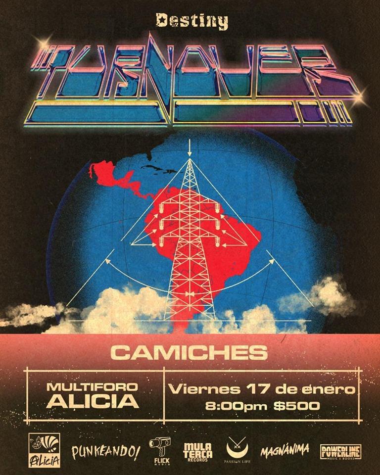 Turnover hará una gira por Latinoamérica y en México los recibirá el Foro Alicia
