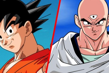 dragon ball z goku ten shin han son los mismos