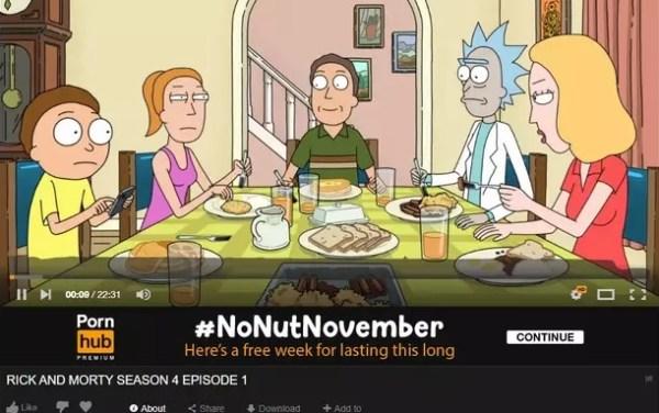 rick and morty cuarta temporada pornhub
