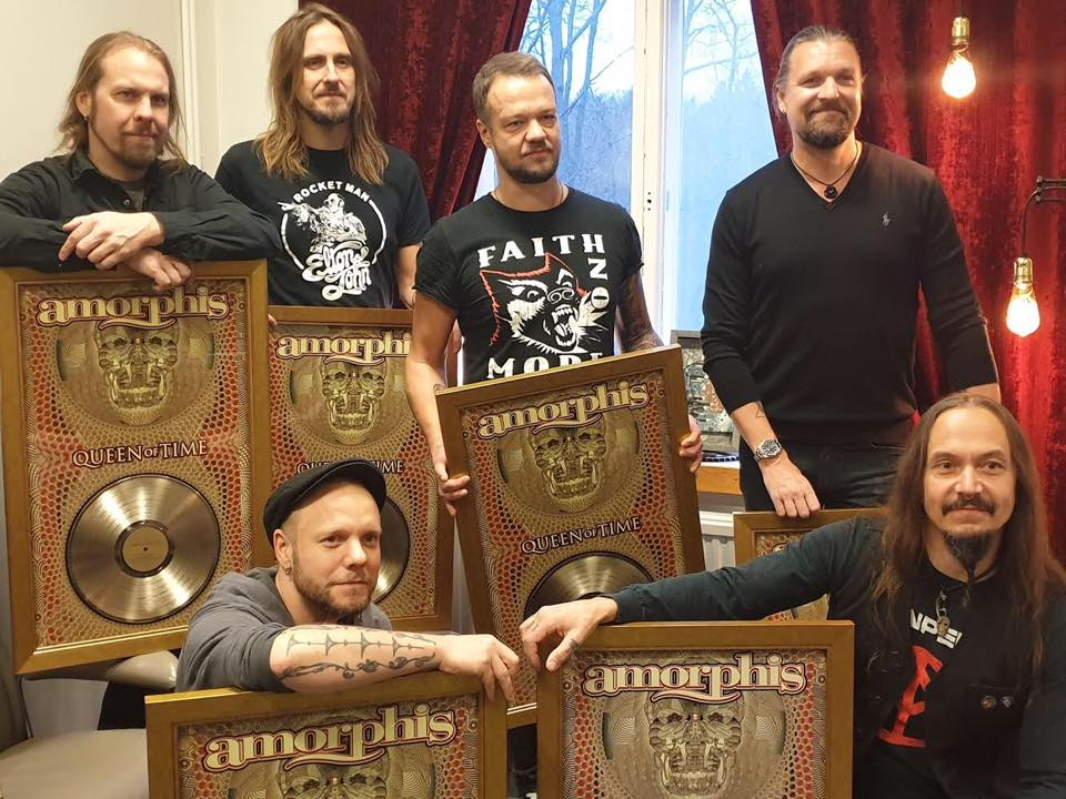 Amorphis: Queen of Time logra Disco de Oro en Finlandia