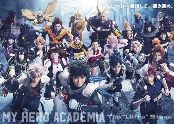 my hero academia nueva obra de teatro tsuneyasu motoshi 2020