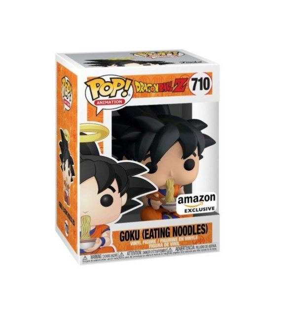 funko pop dragon ball goku fideos ramen