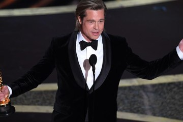 brad pitt oscar 2020 once upon a time in hollywood quentin tarantino