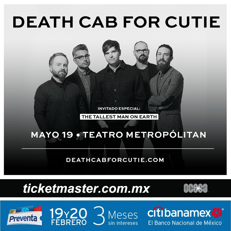 death-cab-for-cutie-concierto-cdmx-2020