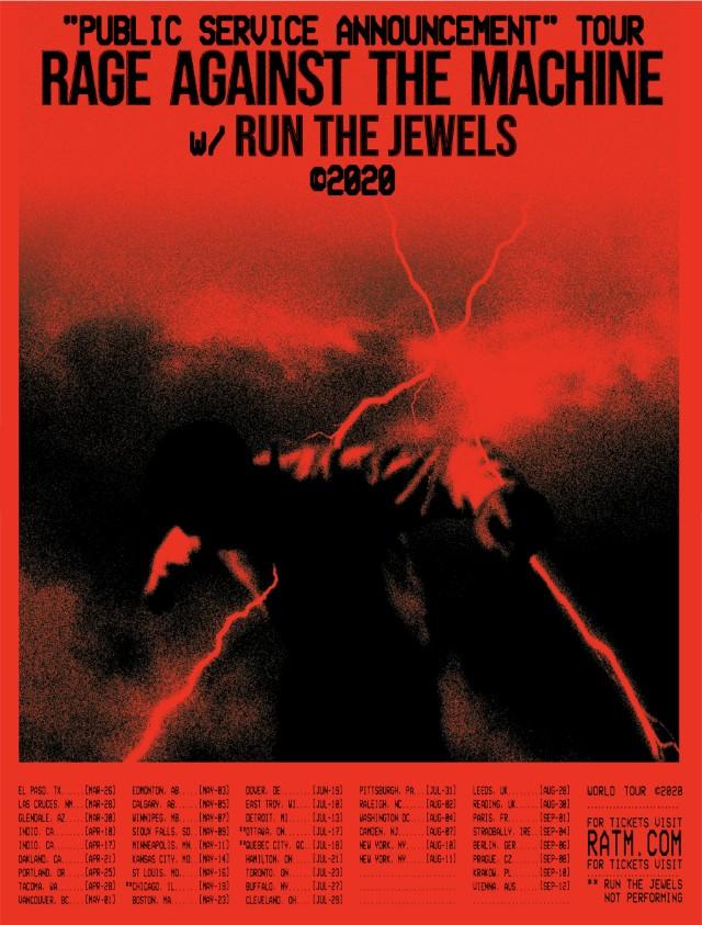 Rage Against The Machine anunció una nueva gira internacional