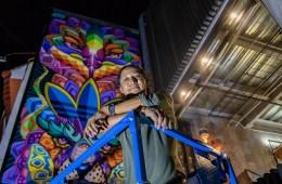Farid Rueda es el creador del nuevo mural de adidas Originals Flagship Store México