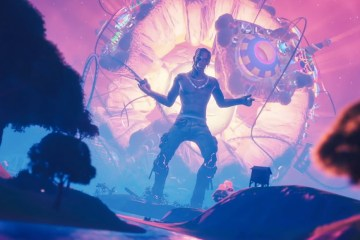 Traviss Scott y Kid Cudi estrenan su nueva canción en Fortnite