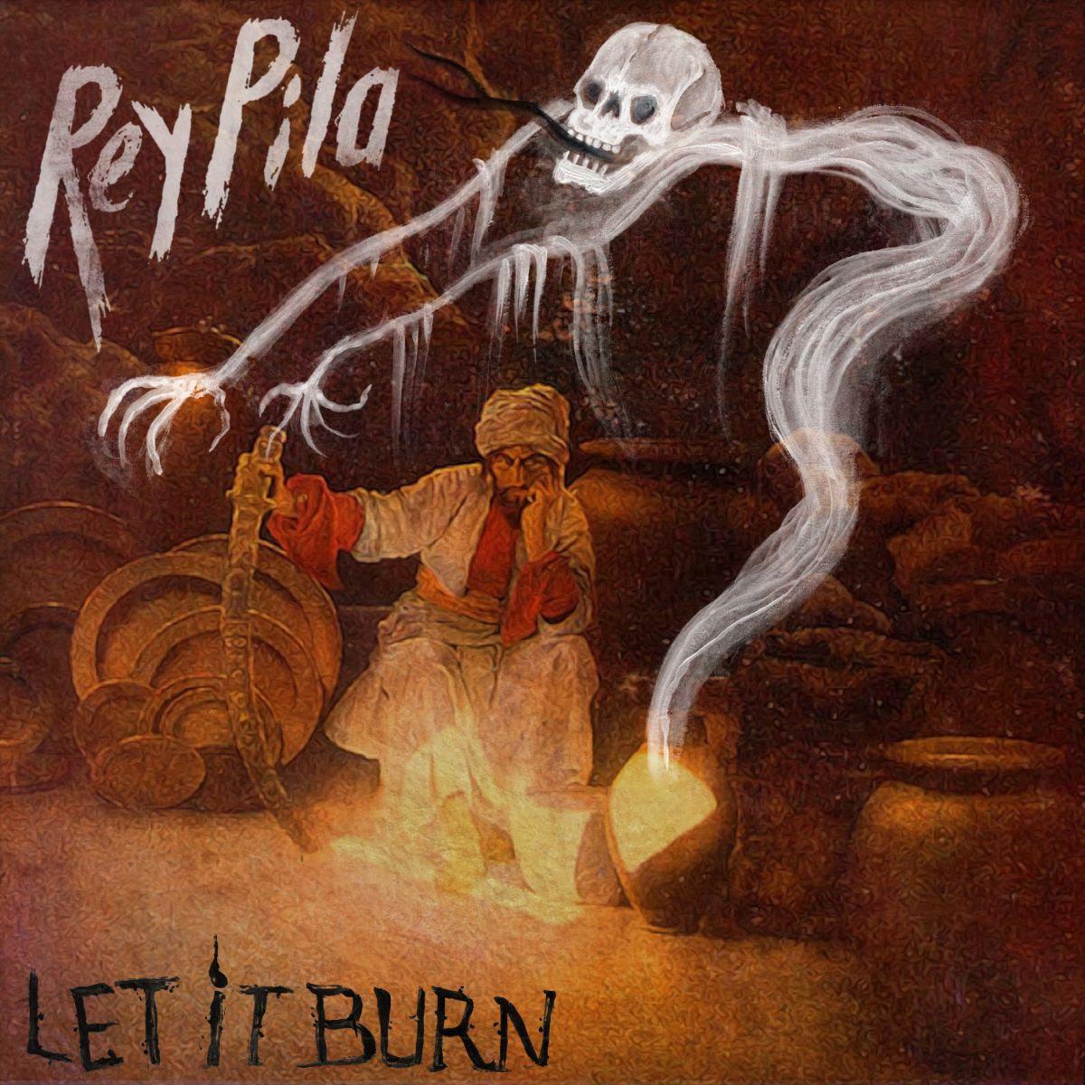 Rey-pila-Let-It-Burn-cover