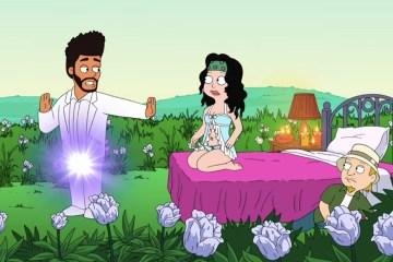 The Weeknd estrena una canción en el nuevo episodio de 'American Dad'