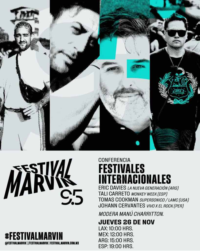 Festivales Internacionales Festival Marvin 95