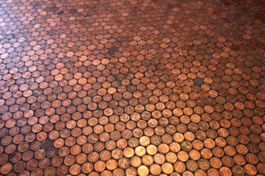 Brilliant New Flooring That's a Pretty Penny