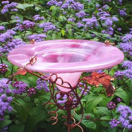 Add a touch of glass to your garden