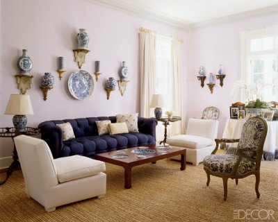 Classic Elements in Aerin Lauder's Living Room