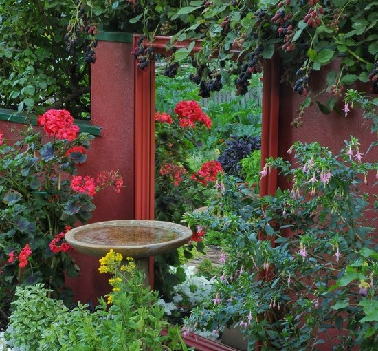 Bring a Mirror Outside: How a Mirror Can Bring New Life to a Garden Design