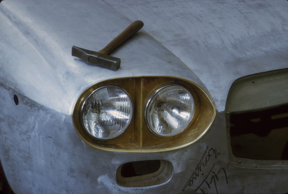 vintage car, headlight, headlamp,