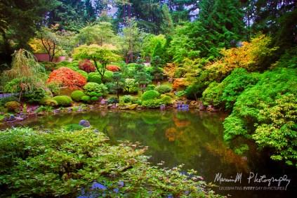 Japanese Gardens; Portland, Oregon