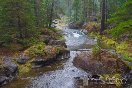 Stream leading to Paulina Falls