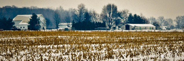 Nappanee, Indiana; east and north, county rd....