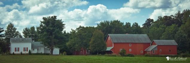 Wakarusa, Indiana; east on CR 9....