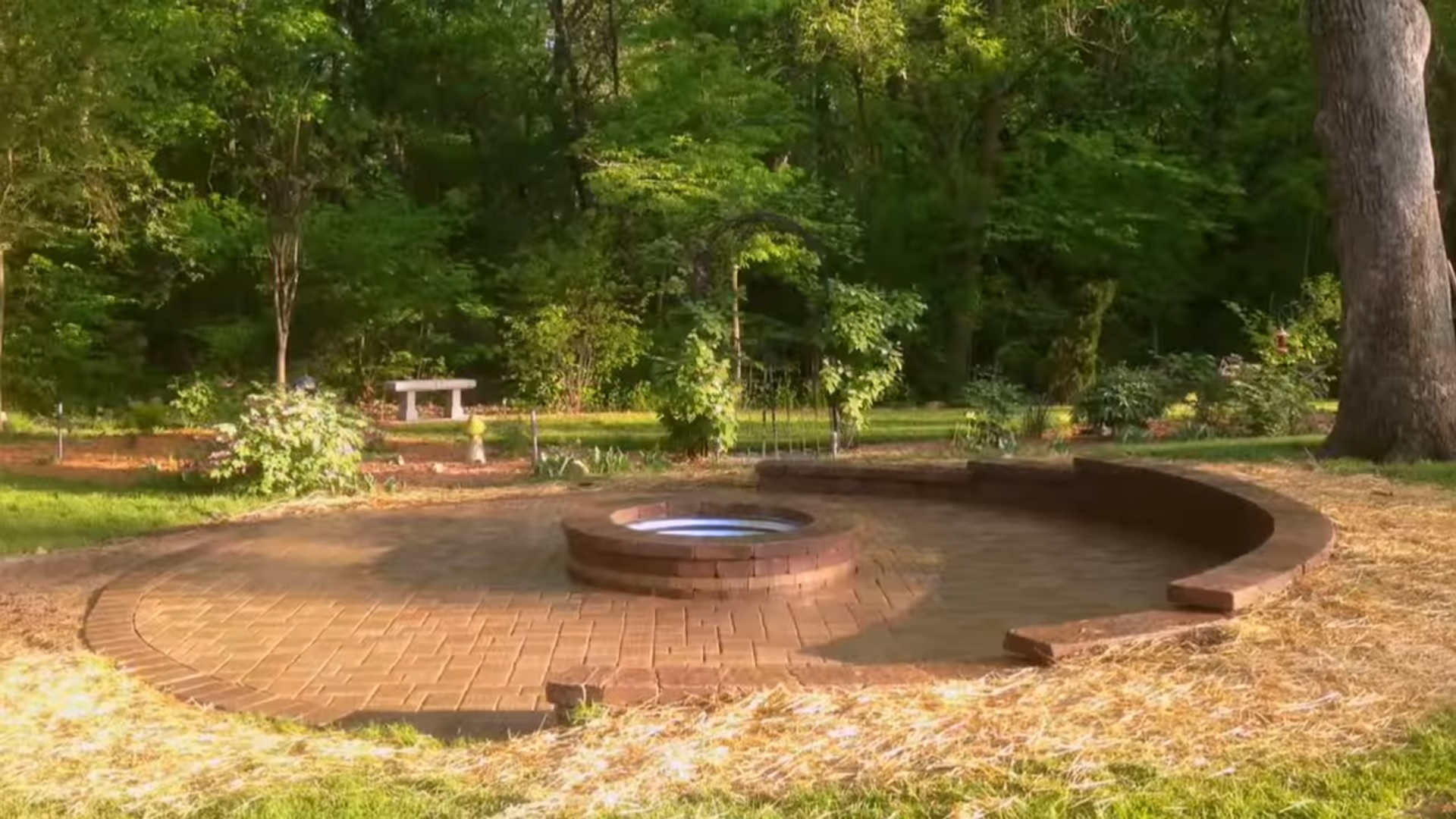 Patio Pavers   Marvin's Brick Pavers on Paver Patio With Fire Pit Ideas id=45147