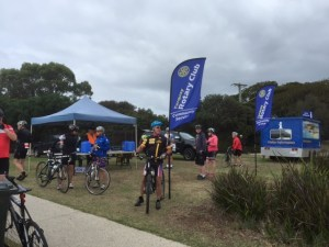 Feed and Drink Stop at Barwon Waters.