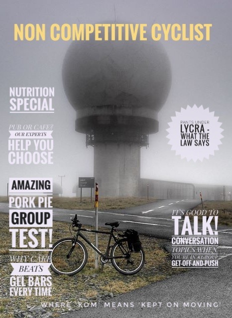 Fake new from a 'faux' magazine, the Non-competive Cyclist