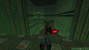 Hell Knight e Baron of Hell atiram o mesmo projétil nas versões tradicionais. Em Doom 64 para diferenciar um tiro do outro o Baron of Hell ganhou um tom avermelhado e consegue atirar projéteis com a potência da arma Unmaker.