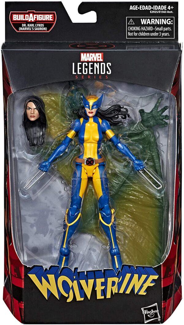 Marvel Legends X 23 Wolverine Laura Kinney Action Figure 6 Inch Sauron Baf Marvtoys