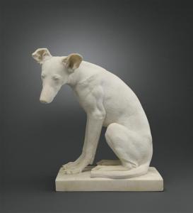 Lévrier Auteur : Chenillion Jean-Louis (1810-1875) Crédit photographique : (C) RMN-Grand Palais (musée du Louvre) / Stéphane Maréchalle