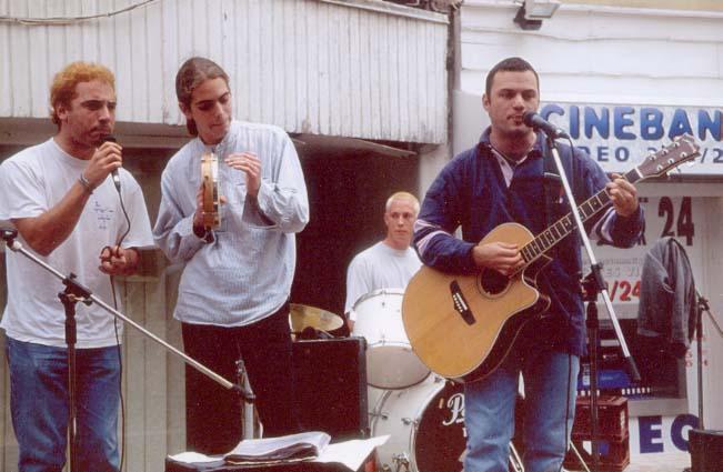 ID'FX à la fête de la musique du Touquet en 1998