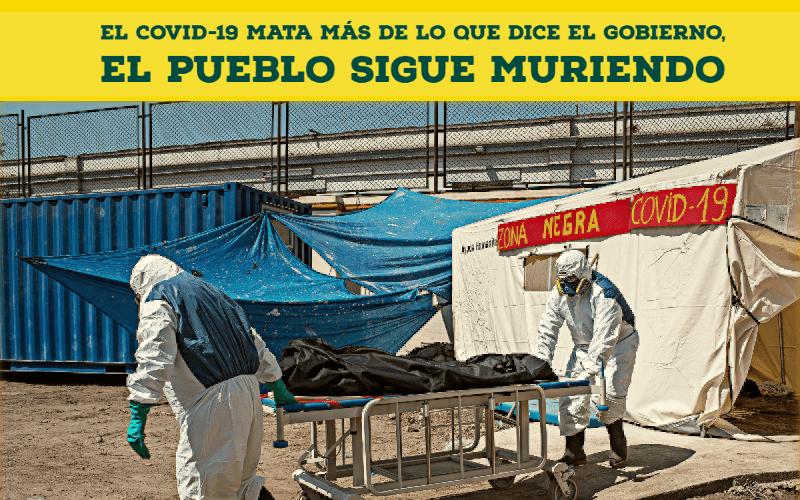 El COVID-19 MATA MAS DE LO QUE DICE EL GOBIERNO, el PUEBLO sigue muriendo