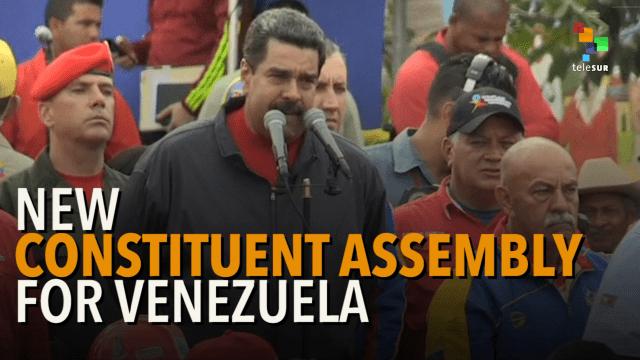Βενεζουέλα: Οι εκλογές για τη Συντακτική Συνέλευση και η επίθεση της αντίδρασης