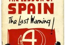 Μαθήματα της Ισπανίας - η τελευταία προειδοποίηση, Ισπανική Επανάσταση, ισπανικός εμφύλιος