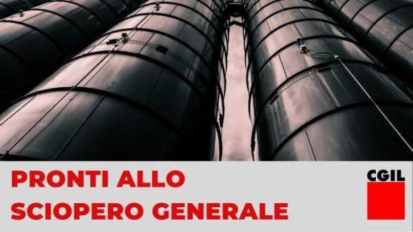 Ιταλία: Οι εργάτες απαντούν στον εκβιασμό των αφεντικών με γενική απεργία