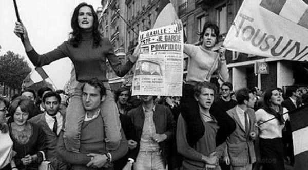 Μάης 1968, Μάης 68, Γαλλικός Μάης, Εξέγερση, Επανάσταση