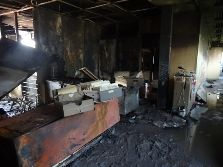 cledep cedep office burned 6