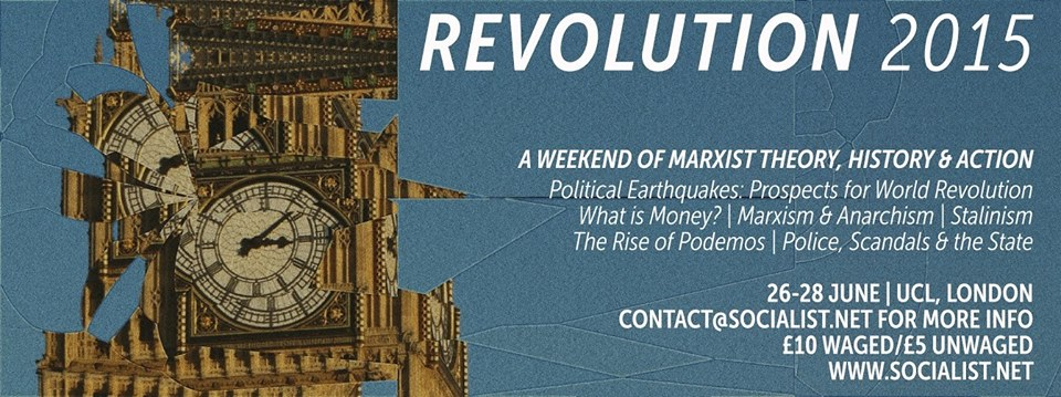 Revolution 2015: Climate change, capitalism and crisis