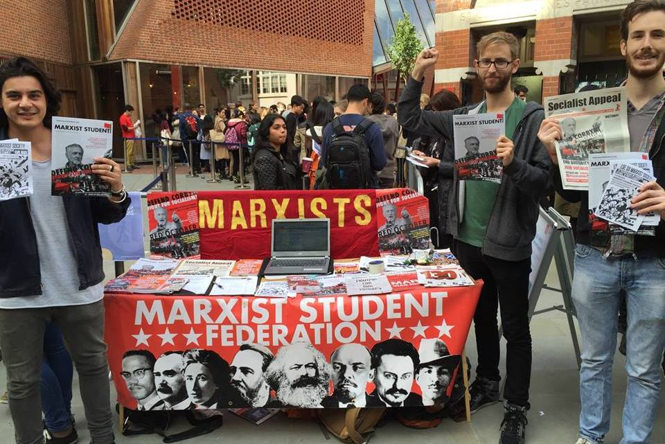 Marxists take campuses by storm
