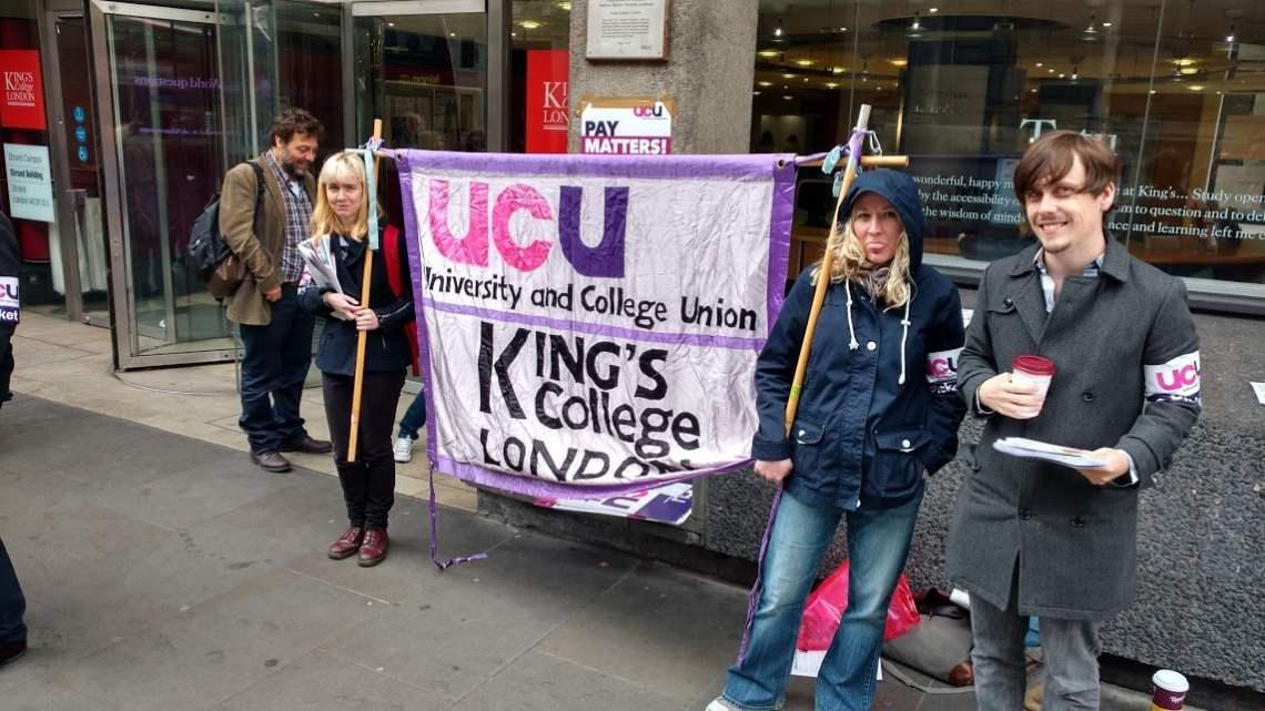 UCU strike: mood in universities for long struggle