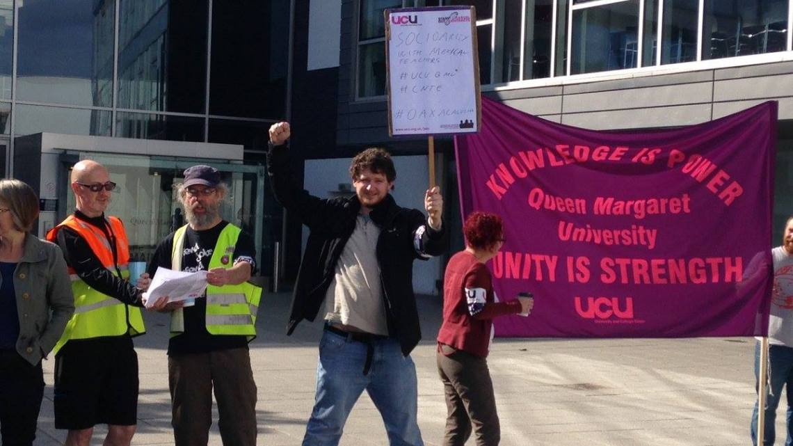 UCU strike action: Marxist student solidarity at Reading and QMU