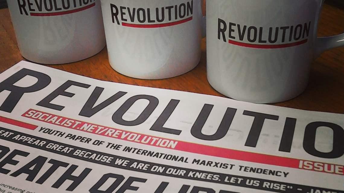 Revolutionary mugs now on sale!