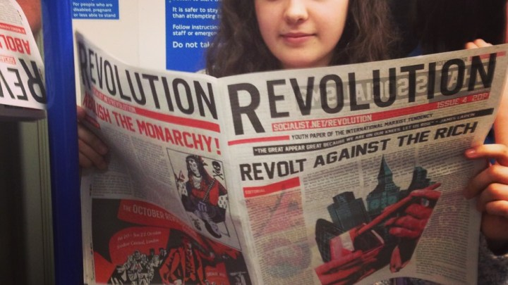 Revolution on the tube