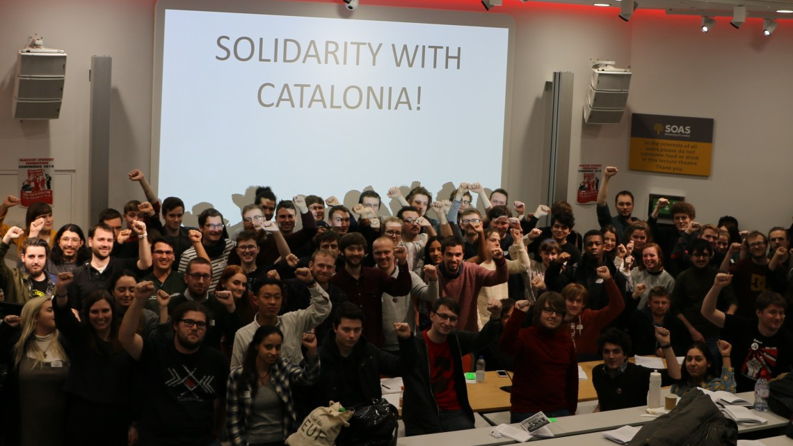Solidarity with Catalonia!