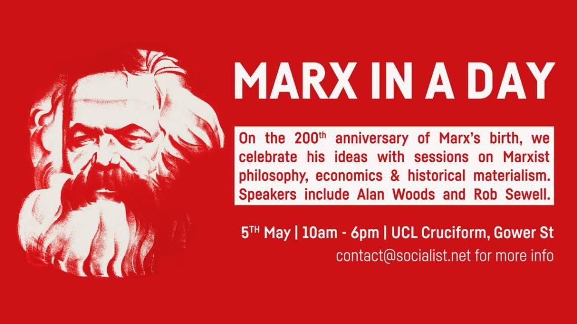 Marx in a Day – #Marx200