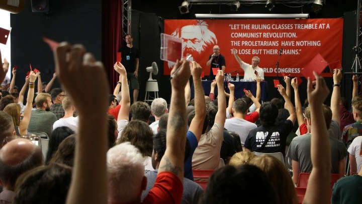 Marxist students from all over the world join the IMT World Congress 2018