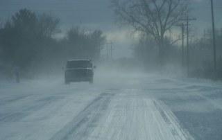 Michigan Winter Road Danger