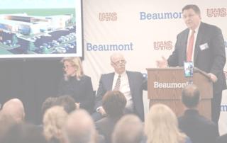 Alex Calderone discusses issues surrounding Beaumont and Advocate Aurora Health merger