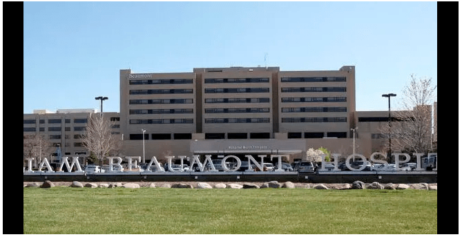 Beaumont Hospital on 13 Mile Road in Royal Oak