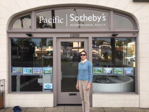 Mary Stuart Freydberg at Sotheby's in Coronado, CA