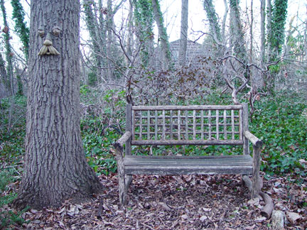My Graduation Garden Bench 2000-2007 RIP
